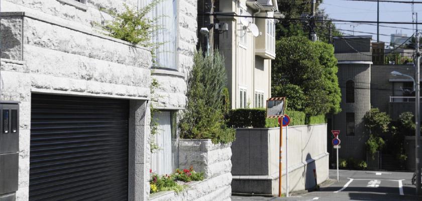 高級住宅街のイメージ